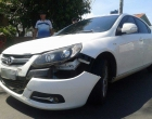 Mais um: colisão entre carro e moto deixa dois feridos em Osório