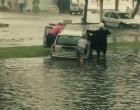 Chuva forte já provoca alagamentos na região