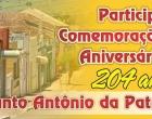 Santo Antônio comemora aniversário de 204 anos