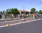Acidente envolvendo moto e bicicleta deixa dois feridos em Osório