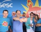 Governador destaca importância do esporte em circuito de verão no Litoral