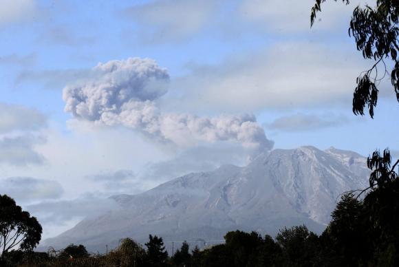 Erupção do Cabulco levou região de Llanquihue e Puerto Octay ao estado de exceçãoFelipe Trueba/Agência Lusa