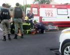 Osório: motociclista fica ferido em colisão com veículo