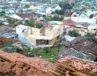 Tornado desabriga mil pessoas no município catarinense de Xanxerê