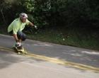 Adeptos do freeboard afirmam que Morro da Borússia é o melhor lugar do Brasil para a prática do esporte