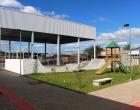 Centro de Artes e Esportes Unificados em fase de conclusão em Santo Antônio