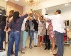Dione Modas brinda com clientes a abertura da temporada de inverno 2015