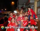 Virou rotina: colorados fazem a festa no centro de Osório