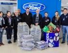 Juvel entrega doações da campanha do agasalho 2015 em Osório