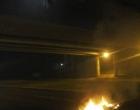 Protesto contra parcelamento de salários tem queima de pneus em Osório