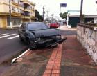 Gestante se envolve em acidente de trânsito no centro de Osório