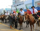 Grupo Tropeiros do Divino de Santo Antônio busca centelha da chama em Osório