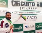 Proibido pelos médicos, osoriense supera lesão e é vice campeão mundial de Jiu jitsu