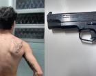 Homem é preso ao tentar assaltar policial militar em Torres