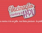 Vacinação contra HPV segue em Osório