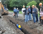 Presidente da Corsan visita obras de água e esgoto no Litoral Norte