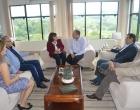 Prefeito de Santo Antônio da Patrulha recebe a Reitora da Universidade Federal do Rio Grande