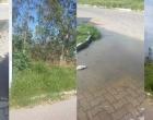 Internautas reclamam de esgoto a céu aberto em Osório