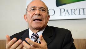 """Durante entrevista à imprtensa, o ex-ministro da Aviação Civil Eliseu Padilha disse ainda que o PMDB está """"dividido"""" em relação ao impeachment Wilson Dias/Agência Brasil"""
