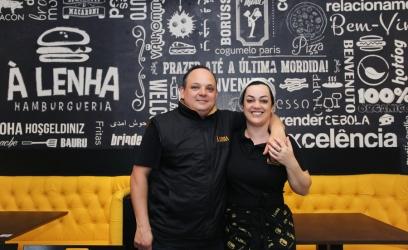 Empresário Rodrigo Garcia Pires ao lado de sua sócia e esposa Andréia Pires. Foto: Emille Rosa