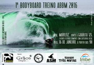 1º Bodyboard Treino ABBM 2016