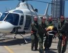 Helicóptero Koala: indígena grávida é resgatada em local de difícil acesso no Litoral Norte Gaúcho
