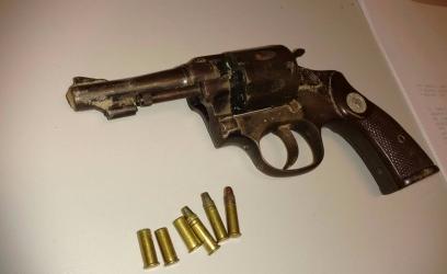 Arma que foi apreendida.