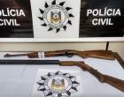 Polícia Civil apreende armas e carnes impróprias para o consumo em Arroio do Sal