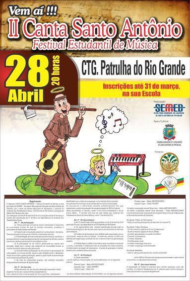 24-02 - Inscrições para o Canta Santo Antônio estão abertas até final de março