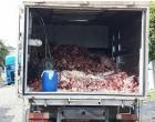 Apreendidas mais de duas toneladas de produtos impróprios e tradicional tenda é interditada no Litoral