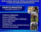 Osório sediará torneio de cães da segurança pública