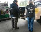 Polícia realiza ação conjunta em postos de gasolina no litoral