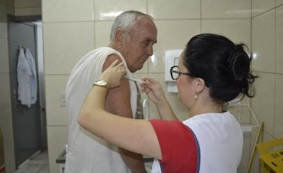 Vacinação gripe - foto Luiz Falconi