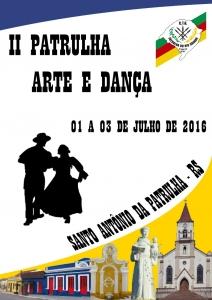 15-06 - II Patrulha Arte e Dança acontece em Julho