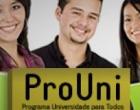 Estudantes já podem fazer inscrições para o ProUni