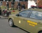 Dupla é presa com moto que estaria sendo usada em crimes em Osório