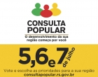 Consulta Popular 2016-2017 começa nesta terça-feira: vote agora