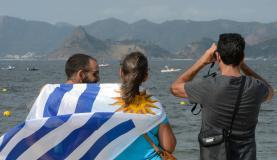 A estimativa da Riotur é que 350 mil turistas estrangeiros estejam na capital fluminense durante os  Jogos Tomaz Silva/Agência Brasil