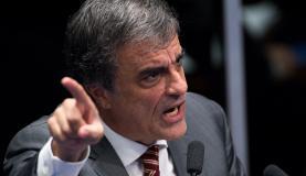O advogado de defesa, José Eduardo Cardozo, no  quinto dia do julgamento final do processo de impeachment  de Dilma Rousseffarcelo Camargo/Agência Brasil