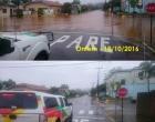 Chuvas superam média histórica em municípios de quatro regiões