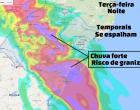 Defesa Civil alerta para temporais isolados no RS