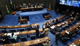 Texto-base da PEC do Teto dos Gastos Públicos foi aprovado por 61 votos favoráveis e 14 contráriosFabio Rodrigues Pozzebom/Agência Brasil