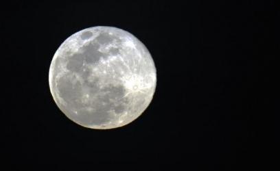 A lua não chegava tão perto assim da Terra desde 1948 e não voltará a fazê-lo até 2034Arquivo Agência Brasil