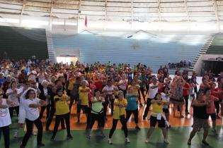 Além das atividades esportivas, aconteceram jogos recreativos, aulas de dança, alongamento e aeróbica, jogos de bocha, oficinas de cidadania e bailes - Foto: Solange Brum/Divulgação