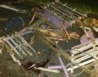 Suspeitos de abigeato se envolvem em grave acidente em Santo Antônio da Patrulha