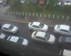 Taxistas protestam contra o Uber em Capão da Canoa