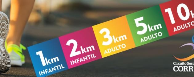 Final estadual do Circuito Sesc/Caixa de Corridas acontece em Torres