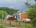 Temporal destrói residência e deixa ferido em Capivari do Sul