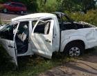 Homem morre e três ficam feridos após capotamento na BR-101