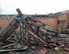 Queda de laje deixa duas pessoas feridas em Tramandaí